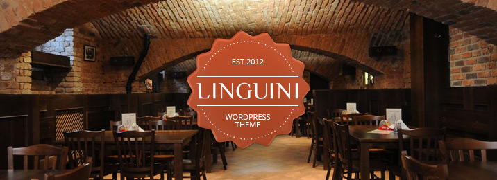 Linguini restaurant responsive wordpress theme